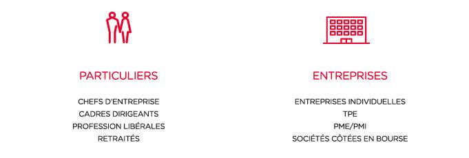 Particuliers entreprises - conseil en gestion de patrimoine Paris